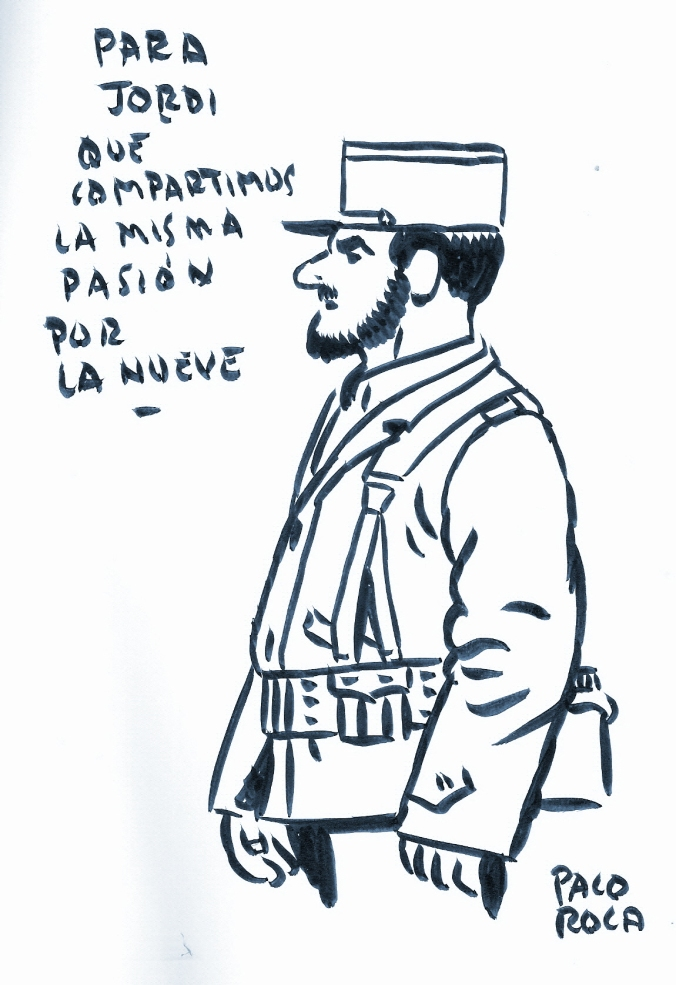 Dibujo de Paco Roca 2