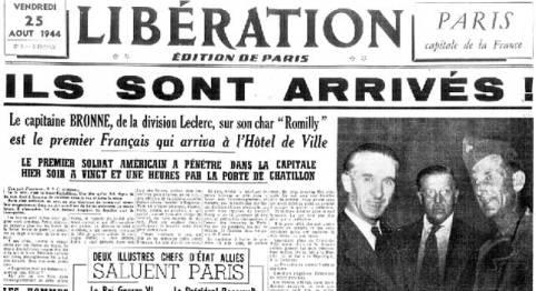 Portada Libération