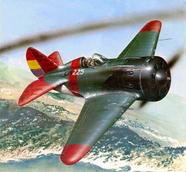 POLIKARPOV I-16 MOSCA