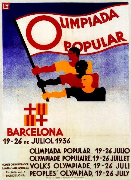 Resultado de imagen de Olimpiada Popular 1936