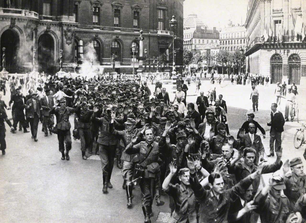 Nazi Roundup in Liberated Paris