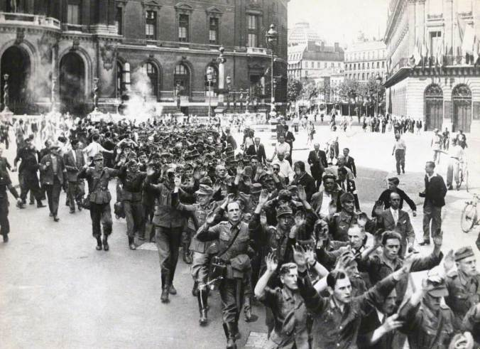 Nazi Roundup in Liberated Paris