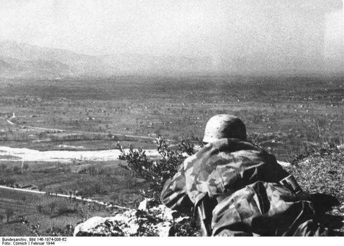 Bei Monte Cassino, Fallschirmjäger