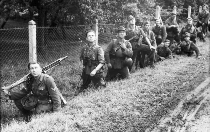 Dia D defensores alemanes