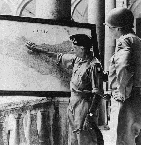 600px-Montgomery_and_Patton_Discuss_Operations_in_Sicily