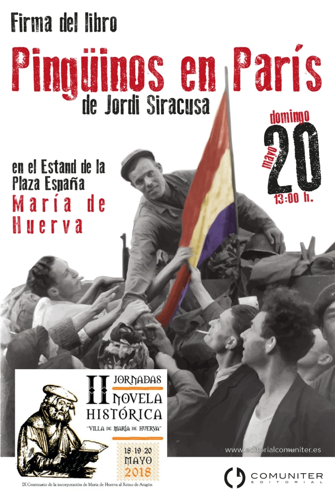 Cartel Jordi Mª de Huerva